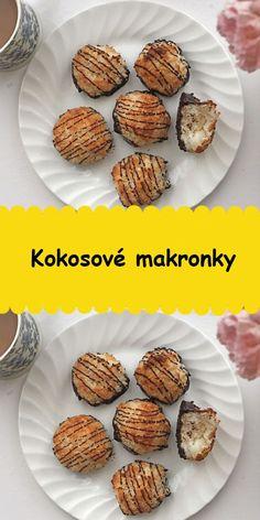 Kokosové makronky Muffin, Breakfast, Food, Morning Coffee, Essen, Muffins, Meals, Cupcakes, Yemek