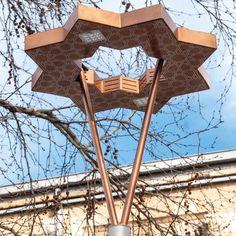SIRRAC Led meets history | Sirrac Park Bahçe Aydınlatma Direkleri Konya Land Scape, Industrial, Led, Park, Lighting, Design, Industrial Music, Parks, Lights