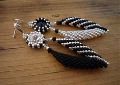 Cruella De Vil II. by IrenaK - SAShE.sk - Handmade Earrings
