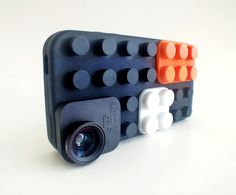 iPhone SquidCam Case + 3 lenses  macro, fisheye,  and wide angle lens for the iphone