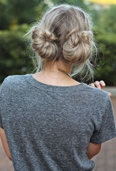 Hair Trend: Double Bun