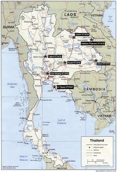 Thailand Department of Aviation Department of Military maps Patch