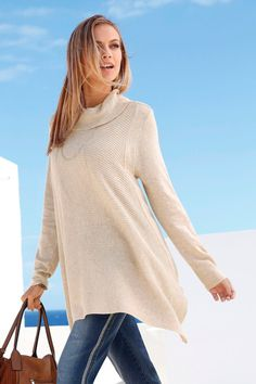 Euro Edit Poncho Hem Jumper at EziBuy New Zealand. Buy women's, men's and kids fashion online. Kids Fashion, Fashion Outfits, Womens Fashion, Model Pictures, Online Clothing Stores, European Fashion, Leather Ankle Boots, Jumper, Trousers