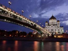 Cathedral of Christ the Saviour – Moscow, Russia