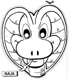 Free printable coloring pages for print and color, Coloring Page to Print , Free Printable Coloring Book Pages for Kid, Printable Coloring worksheet Snake Coloring Pages, Coloring Pages For Girls, Coloring For Kids, Free Printable Coloring Pages, Free Coloring Pages, Coloring Books, Coloring Pages To Print, Snake Party, Arts And Crafts
