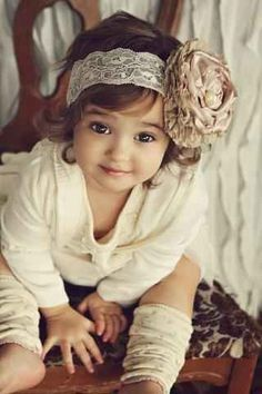 She may not be able to talk yet but she sure can put together an outfit. | 25 Kids Too Trendy For Their Own Good