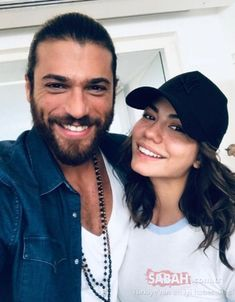 Erkençi Kus Can and Sanem. Can Yaman Turkish Men, Turkish Beauty, Turkish Actors, Movie Couples, Couples In Love, Popular Magazine, Cute Actors, Early Bird, Couple Goals