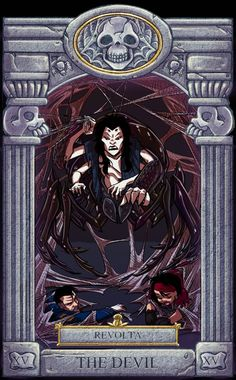 Ghoul School Tarot: Devil by on DeviantArt Cartoon As Anime, Cartoon Art, Ghoul School, Old Cartoons, Disney Cartoons, Scooby Doo Mystery Incorporated, Hex Girls, Pretty Pictures, Pretty Pics