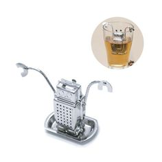 24016Tea infuser Robot Tea Time stainless