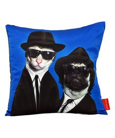 PETS ROCK™ Brothers Throw Pillow | zulily