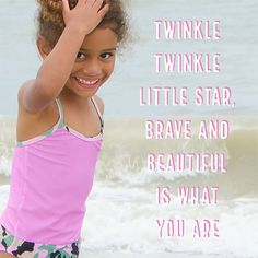 To all the girls out there, never forget to be #brave, you're already #beautiful.   #FASTEN #FASTENista #swimsuit #toddler #beachwear #familyvacation #beachlife #beachday #beachvacay