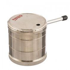 5 Piece Sharper Handle Metal Herb Grinder w/ Pipe