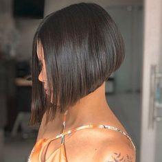 Bob Haircuts For Women, Thin Hair Haircuts, Haircut For Thick Hair, Short Hair Cuts, Short Hair Styles, Cute Bob Haircuts, Graduated Bob Hairstyles, Short Bob Hairstyles, Trendy Hairstyles