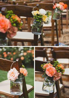 DIY SUMMER ORCHARD WEDDING