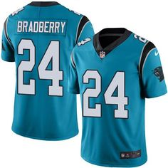 856622639 ... Jordan Howard jersey Nike Panthers 24 James Bradberry Blue Mens  Stitched NFL Limited Rush Jersey ...