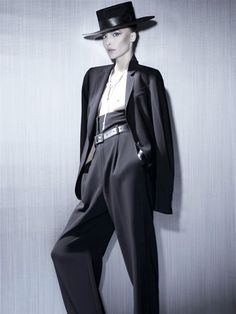 MY FASHION TRICKS: Androgynous look .. all time classic!
