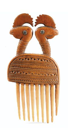 Africa   Comb from the Baule people of Ivory Coast   Ivory