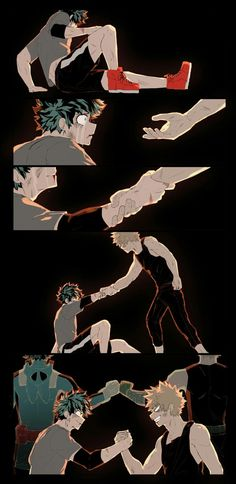 Bnha Izuku Midoriya and Katsuki Bakugou: Friends Rivals My Hero Academia Shouto, My Hero Academia Episodes, Hero Academia Characters, Me Anime, Anime Guys, Manga Anime, Haikyuu, Bakugou And Uraraka, Hero Wallpaper