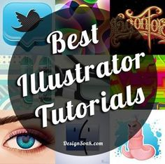 120+ of the Best Illustrator Tutorials EVER! This post is the ultimate resource for all your Adobe Illustrator tutorial needs. You can learn so much from these 120+ top Illustrator tutorials, which include everything from vector Illustrator typography, to vector character design and learning Illustrator tools. Enjoy… http://www.designsoak.com/top-best-illustrator-tutorials-ever/: