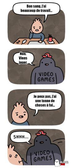 Les jeux vidéo savent ce qu'il y a de bon pour vous... - Be-troll - vidéos humour, actualité insolite