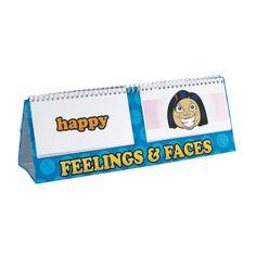 Feelings & Emotions Flip Chart Set - OrientalTrading.com