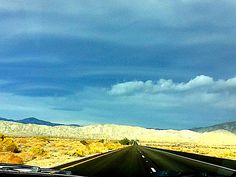 Road to Joshua Tree  California