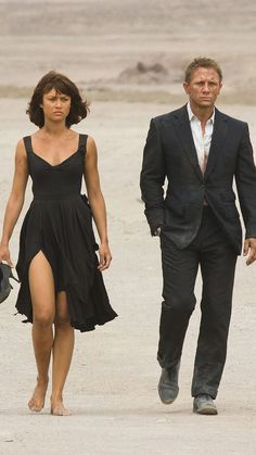 Camille and James Bond, Quantum of Solace