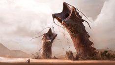 Sandworms! by Manuel2k10.deviantart.com on @DeviantArt
