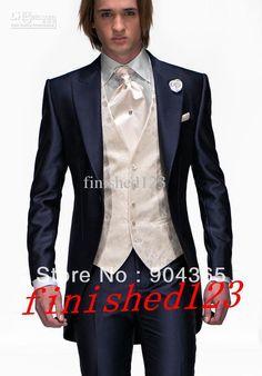 Slate Blue 'Allure' Tuxedo from http://www.mytuxedocatalog.com
