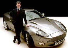 Aston Martin Vanquish, the James Bond Car 2002