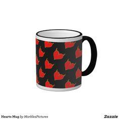 Hearts Mug #mug #hearts