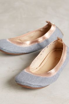 Yosi Samra Panama Fold-Up Flats - anthropologie.com; $78