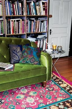 Bohemian Fall jewel tones in Interiors | Bohemian Treehouse