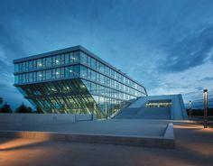 hahn + kolb logistics center by sigrid hintersteininger architects near stuttgart, germany