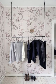 Chinoiserie wallpaper  Removable wallpaper Chinoiserie art
