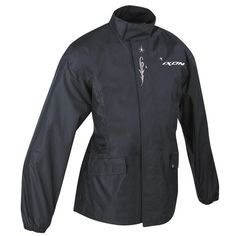 Ixon Basic Lady Over Jacket  Description: The Ixon Basic Womens Motorcycle Over Jacket is packed       with features…              Specifications include                      100% Waterproof                    Polyester Fibers                    Elasticated waist on the back                    Two patched pockets     ...  http://bikesdirect.org.uk/ixon-basic-lady-over-jacket-5/