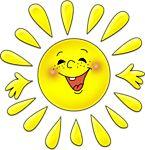 Солнце, солнышко смайлик картинка