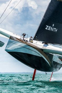 Maxi Spindrift 2, possibly the best offshore sailing boat ever built