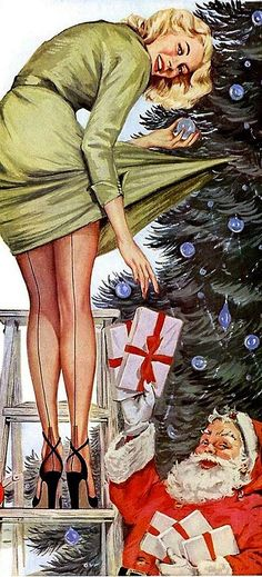 1955 Mojud Stockings Advertising