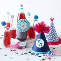 A New Year's Party at Home: Celebrate with the Kids  Celebrate New Year's Eve with good food, great activities, fun resolutions -- and your kids. Staying home for the holiday has never been so much fun.