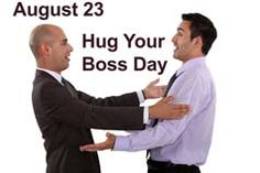 This one might be tough for some of you. So what happens if you're your own boss? #HugYourBoss
