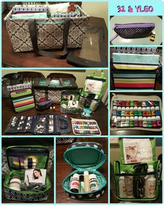 Thirty-One products holding Young Living Essential Oils supplies, Thirty-One & Young Living Essential Oils, Large Utility Tote, LUT, Stand Tall Insert, Glamour Case, Double Duty Caddy, Jewerly Keeper, Hanging Travel Case, Cute Case, Top-A-Tote, Pocket-A-Tote, Easy Going Wristlet,Thirty-One, Thirty One, Young Living Essential Oil, YLEO, Essential Oils, www.mythirtyone.com/bisconti, www.facebook.com/groups/VIP31Bisconti/, Kelly Bisconti