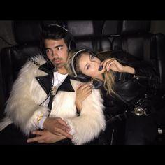 "Cara Delevingne dubs Gigi Hadid and Joe Jonas ""G.I. Joe"" on Instagram: ""❤️❤️❤️❤️ introducing G.I. JOE  @joejonas @gigihadid #GIJOE"""