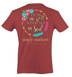 Simply Southern It is Well With My Soul Adult Short Sleev...