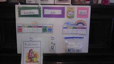 Preschool Calendar Board