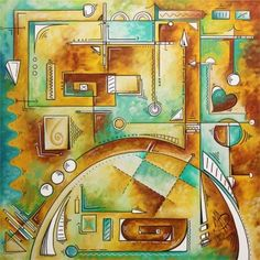 """TITLE:  """"ILLUSIONARY""""  SIZE:  36""""X36"""" SUPPORT:  1.5"""" Gallery Wrapped Canvas by Genie Canvas MEDIUM:  Acrylics PRICE:  $4,000 SHIPPING:  Included - (International Shipping not available)  Artist:  Megan Duncanson©  #contemporaryart #abstract #abstractart #art #painting #interiordesign #interior #interiors #homedecor #forthehome #sophisticated #stylish #luxe #luxury"""