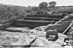 Aspecto da escavação da palestra das Termas do Sul, c. 1969-1971 (?)