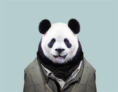 Photoshop macht's möglich: Richtig gut angezogene Zoo-Tiere - KlonBlog » KlonBlog