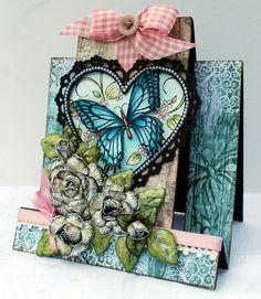 Butterfly Card ~ Heartfelt Creations ~ - Scrapbook.com