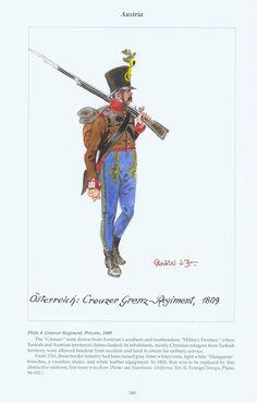 Austria: Plate 4. Grenzer Regiment, Private, 1809